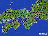 近畿地方のアメダス実況(日照時間)(2021年06月23日)
