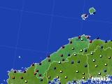 島根県のアメダス実況(日照時間)(2021年06月23日)