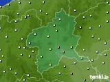 群馬県のアメダス実況(気温)(2021年06月23日)