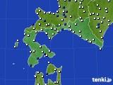 道南のアメダス実況(風向・風速)(2021年06月23日)