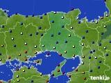 2021年06月30日の兵庫県のアメダス(日照時間)