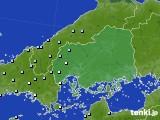 2021年07月03日の広島県のアメダス(降水量)