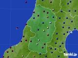 2021年07月03日の山形県のアメダス(日照時間)