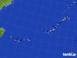 沖縄地方のアメダス実況(日照時間)(2021年07月24日)