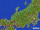 アメダス実況(気温)(2021年07月27日)