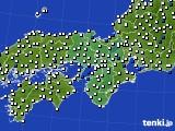 近畿地方のアメダス実況(風向・風速)(2021年07月29日)