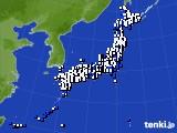 2021年10月06日のアメダス(風向・風速)