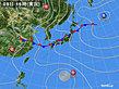 2018年07月08日の実況天気図