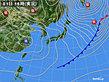 2019年02月01日の実況天気図