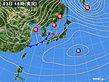 2019年02月03日の実況天気図