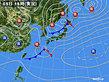 2019年04月05日の実況天気図