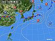 2019年06月28日の実況天気図
