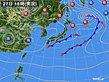 2019年10月27日の実況天気図