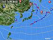2019年10月30日の実況天気図