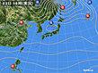 2019年11月02日の実況天気図