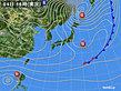 2019年12月04日の実況天気図