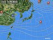2019年12月06日の実況天気図