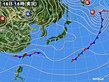 2020年01月16日の実況天気図