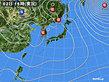 2020年02月02日の実況天気図