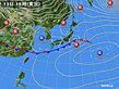 2020年02月13日の実況天気図