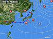 2020年02月29日の実況天気図