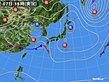 2020年03月07日の実況天気図