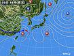 2020年03月09日の実況天気図