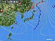 2020年03月11日の実況天気図