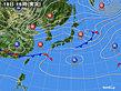 2020年03月18日の実況天気図