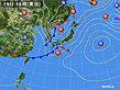 2020年03月19日の実況天気図