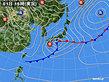 2020年04月01日の実況天気図