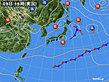 2020年04月09日の実況天気図