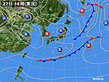 2020年04月27日の実況天気図