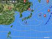 2020年04月29日の実況天気図