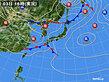 2020年05月03日の実況天気図