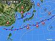 2020年05月24日の実況天気図