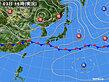 2020年06月03日の実況天気図