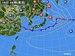2020年06月15日の実況天気図