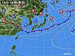 2020年06月16日の実況天気図