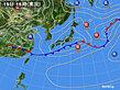 2020年06月19日の実況天気図