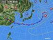 2020年06月20日の実況天気図