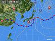 2020年06月22日の実況天気図