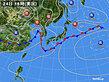 2020年06月24日の実況天気図