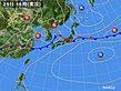 2020年06月25日の実況天気図