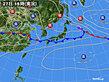 2020年06月27日の実況天気図