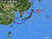 2020年07月01日の実況天気図