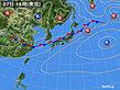 2020年07月07日の実況天気図