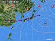 2020年07月09日の実況天気図