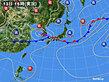2020年07月13日の実況天気図