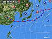 2020年07月16日の実況天気図